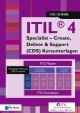 ITIL® 4 Specialist – Create, Deliver & Support (CDS) Kursunterlagen Deutsch